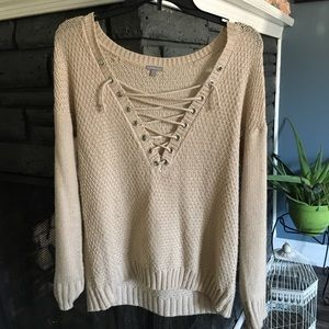 Crew knitted sweater